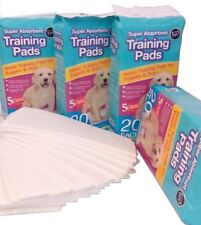 New Dog Puppy House Large Absorbent Training Trainer Pads Toilet Wee 60 X 45cm