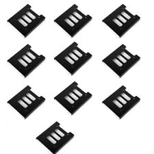 "10pcs 2.5"" SSD HDD To 3.5"" Black Mounting Adapter Bracket Dock Hard Drive Holder"