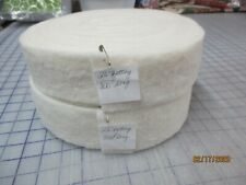 "2 1/2"" Wide Batting Rolls For The Jelly Roll Rugs Set Of 2 Included"