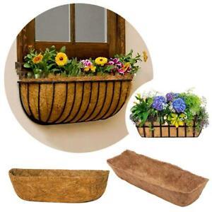 Hanging Basket Coconuts Fiber Planter Inserts Replacement Liner For  Flower Pots