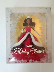 2007 African American Holiday Barbie