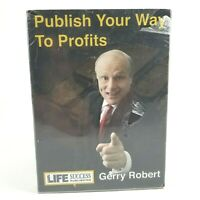 Publish Your Way To Profits DVD Set Gerry Robert   10 DVDS   NEW/SEALED  
