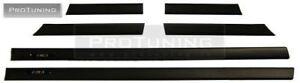 For BMW E36 2D Coupe Cabrio BLACK DOOR TRIM M3 M MOULDING set moldings molding
