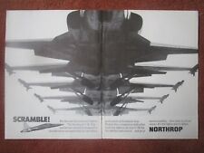 3/1971 PUB NORTHROP F-5E TIGER II INTERNATIONAL FIGHTER ORIGINAL AD
