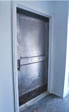 Antique Steel Door Vintage Security Door Bar Entrance Door Architectural Door