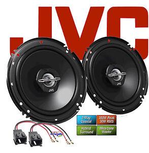 JVC Lautsprecher für PEUGEOT 206  1998 - 2012 Türen vorne 2-Wege Koax 300 Watt