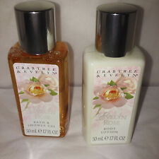 crabtree evelyn evelyn rose bath gel or lotion choose one
