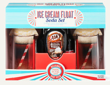 A&W Root Beer Ice Cream Float Soda 5-Pc Gift Set, Ibc Original Formula