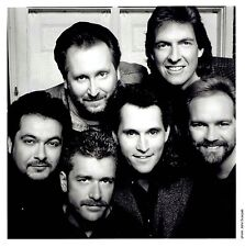 Vintage Photo Portrait by JOHN SCARPATI country music Christian band Diamond Rio