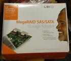 5x LSI Logic MegaRAID SAS 8204ELP 3Gb/s PCI-e RAID Controller Card - NEW in Box