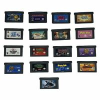 Lot of 17 Gameboy Advance Games GBA Namco Pac-Man Kids Tiger Woods Racing