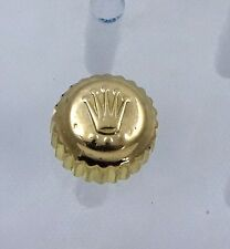 18k Gold Rolex Submariner 7mm Watch Crown Stem 703 Parts 16613 16803 16618