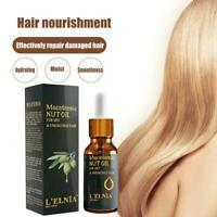 20ml Hair Fixing Hair Essential Oil Improve Frizz Nourishing Hair Treatment Y5L7