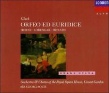 "GLUCK : ""Orfeo Ed Euridice"" brand new 2 CD set (CD, May-1989, 2 Discs, Decca)"