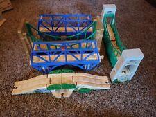 THOMAS THE TRAIN lot of 5 Bridge units. Used-please read description
