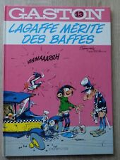 Gaston Lagaffe Nr 13 LAGAFFE MERITE DES BAFFES E.O. DL 4e Trimestre 1979 TTBE