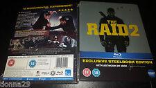 The Raid 2 Berandal UK Exclusive Debossed Limited Edition Steelbook New & Sealed