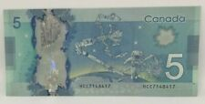 Canadian 2013 Radar Note Frontiers issue Serial # HCC7148417