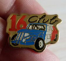 PIN'S RENAULT 16 CLUB AUTO CROSS STOP CAR