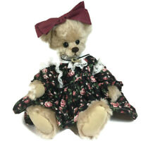 "Beth Little Women mohair bear Sersha Collectibles artist Serieta Harrell 13"" J"