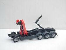 1:87 Herpa EM6105 MAN  E6 Chassis 4achs Abroller mit Kran  Umbau Eigenbau
