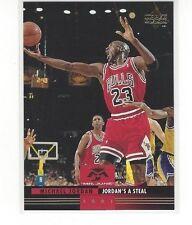 1993-94 UPPER DECK BASKETBALL MR. JUNE MICHAEL JORDAN #MJ1 JORDAN'S A STEAL