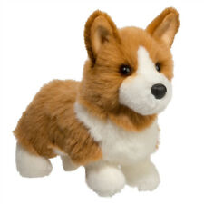 "Douglas LOUIE CORGI Plush Dog Stuffed Animal Toy10""  NWT"