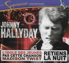 "JOHNNY HALLYDAY ALBUM 1 CD ""SUPREME COLLECTION* 20 TITRES  NEUF SOUS BLISTER"
