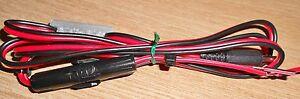 Elecraft KX3 (KX2) Fused (3A) power lead with marker (LD113)