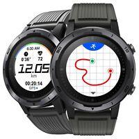 Smartwatch con GPS Integrato per iOS Android Palestra Fitness Corsa Nuoto Nero