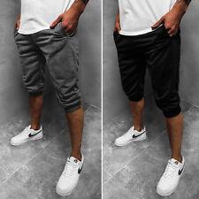 Kurzhose Sporthosen Shorts Jogging Bermudas Kurze Hose Unifarben Herren OZONEE