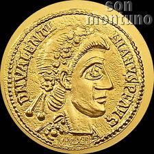 2012 Palau - ROMAN EMPIRE SERIES #23 Valentinian III Half 1/2 gram 24k Gold Coin