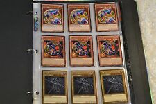 Yugioh Dark Magician of Chaos Lot Binder Deck Collection 43 Cards 12 Rares Holos