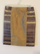 Custom Pencil Skirt In Jacquard SZ 2