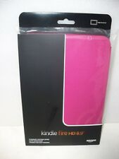 "Amazon Kindle Fire HD 8.9""  STANDING LEATHER CASE,  Fuschia,   UPC: 848719002928"
