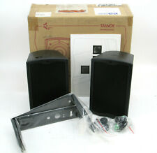 PAIR Tannoy Ultra-Compact Indoor / Outdoor Professional Speakers + Brackets Di5