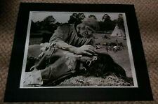 RICHARD HARRIS signed, ' A MAN CALLED HORSE ', with COA, GREAT PIECE !