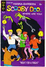 Scooby Doo 8 FN (6.0) Halloween Hanna Barbera 1971 Gold Key Comics