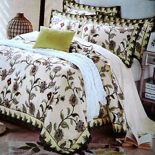Quilt Cover 4PCS Set Lace Decorated Quilt Cover, Sheet & 2 Pillow Cases KING