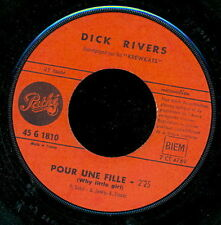 DICK RIVERS 45 TOURS FRANCE A SEVILLE