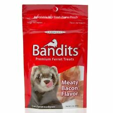Marshall Bandits Ferret Pet Treat Meaty Bacon fresh Meat Protein 3oz