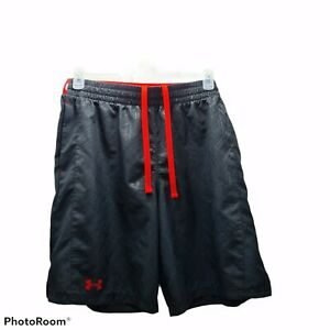Under Armour ApparelTraining Men Black with Red waist color Shorts 🔥