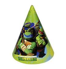 (#2161y#) Cappelli Amscan Teenage Mutant Ninja Turtles 6-carta del Partito