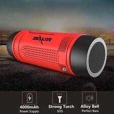 Qualited 5in1 Wireless Bluetooth Speaker shockproof Waterproof FM Power Bank BO
