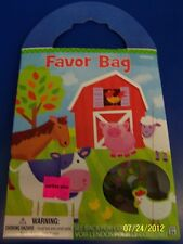 Barnyard Fun Farm Animals Kids Birthday Party Gift Toy Favor Bag Pack