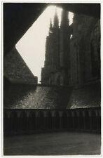 PHOTO VINTAGE ANONYME : MONT SAINT MICHEL - CLOITRES, vers 1930-1940