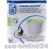 Catit Ersatz-Filter 3er Set, für Fresh & Clear Trinkbrunnen 2 & 3 Liter; 55601