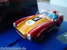 "Carrera Digital 132 30650 Shelby Cobra 289 Universal Memories ""No.4"" LICHT NEU"