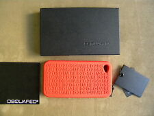 DSQUARED² RARE RED HIGH TECH SILICONE IPHONE HOLDER CASE COVER CELL ACCESORIE
