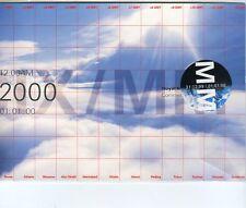 GB 2000 Royal Mail Millennium Moment Commemorative Doc